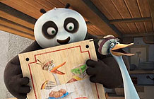 WIX超级碗广告 功夫熊猫3的鸭子爸爸要开店了
