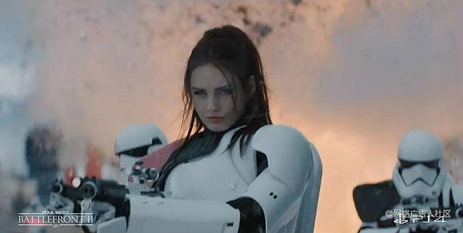 PS4星球大战游戏宣传广告 邻居家的女孩