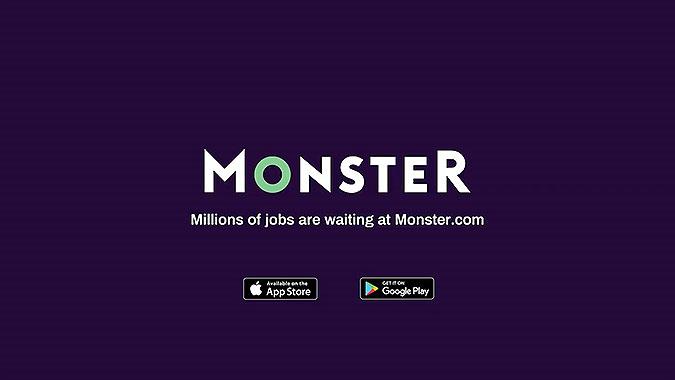 美国招聘网站Monster疫情创意 无所事事的工具箱