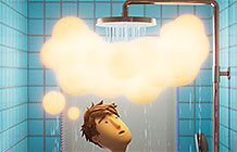 ProtoPie动画创意广告 笼罩身边的云朵