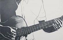 上海JWT - Double A打印纸广告 吉他