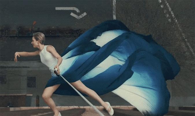 韩国化妆品品牌IOPE唯美广告 空中芭蕾