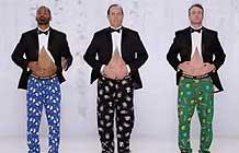 Kmart超有趣圣诞节广告 肚皮Joe Boxer