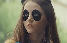 德国超市EDEKA创意广告 黑眼圈女孩