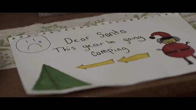 澳大利亚超商Myer2019圣诞节广告 露营