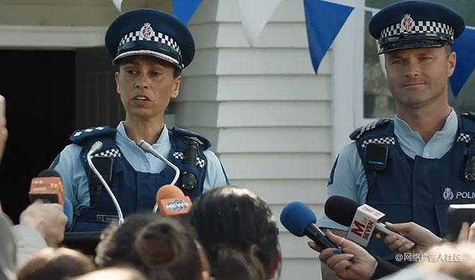 新西兰警察局创意招聘第二波广告