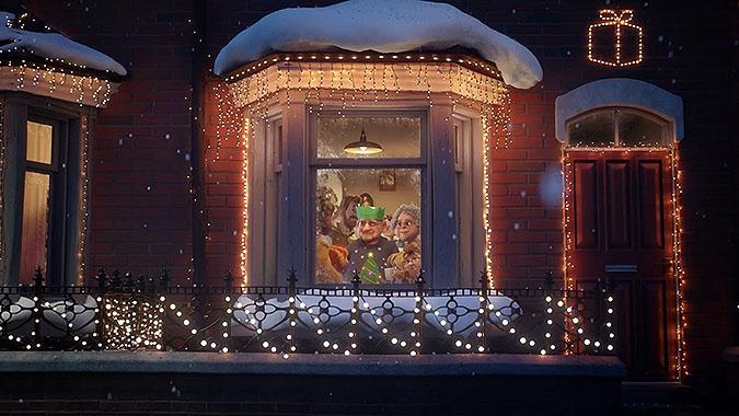 英国超商Very2019圣诞节广告 给予