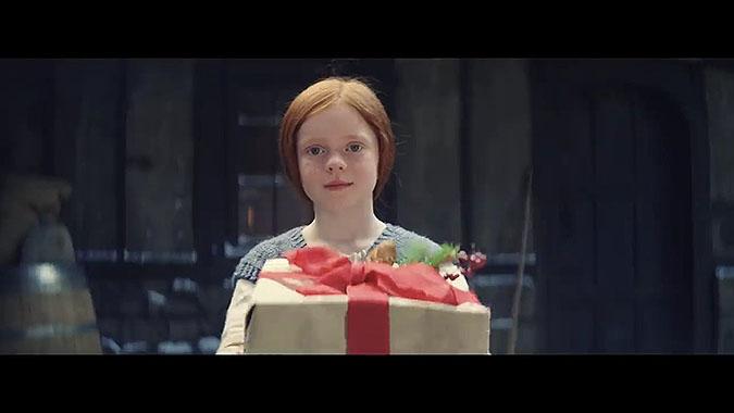 英国超商John Lewis 2019圣诞节广告 喷火龙埃德加