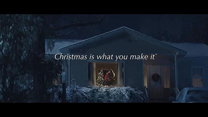 美国工艺品零售商HobbyLobby2019圣诞节广告 工作的妈妈