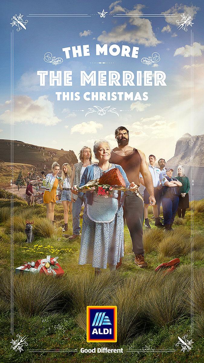 澳大利亚Aidl超商2019圣诞节广告 神奇的火腿