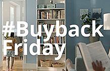 宜家家具广告黑五购物季广告 书柜