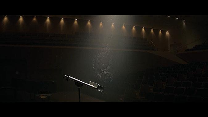 德国班贝格交响乐团广告 舞动的灰尘