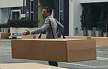 Uber创意广告 纸箱篇