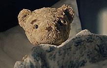 挪威Flytoget机场快线圣诞节广告 被落下的泰迪熊