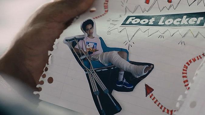 Footlocker耐克篮球鞋广告 头号粉丝来信