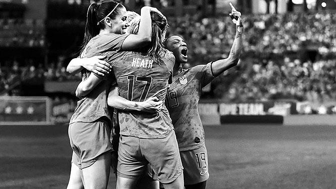 NIKE美国女足世界杯夺冠广告 我相信