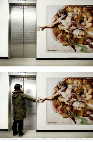 逆天创意平面广告