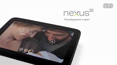 谷歌Nexus10新广告