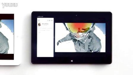 Windows 8挑衅iPad广告