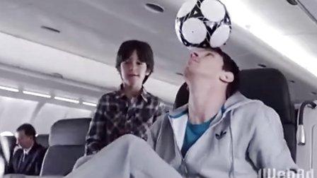 土耳其航空广告,梅西与科比