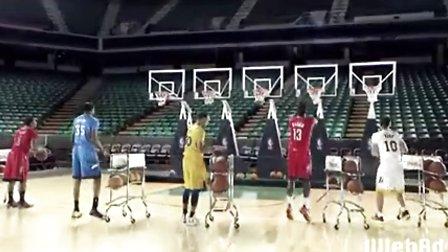 NBA圣诞节广告  投篮圣诞歌