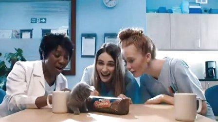 可爱的McVitie饼干广告 猫咪篇