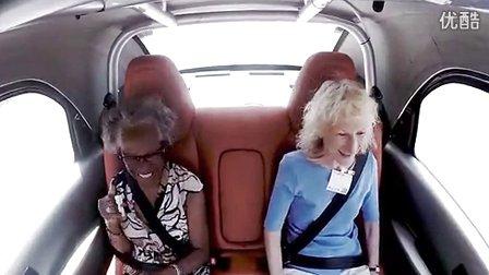 Google无人驾驶车宣传广告