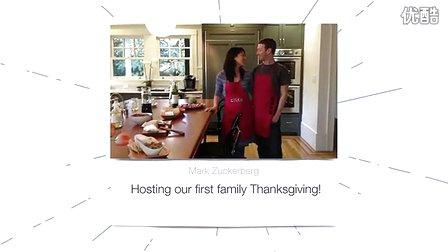 Facebook创始人送给妻子的周年纪念视频